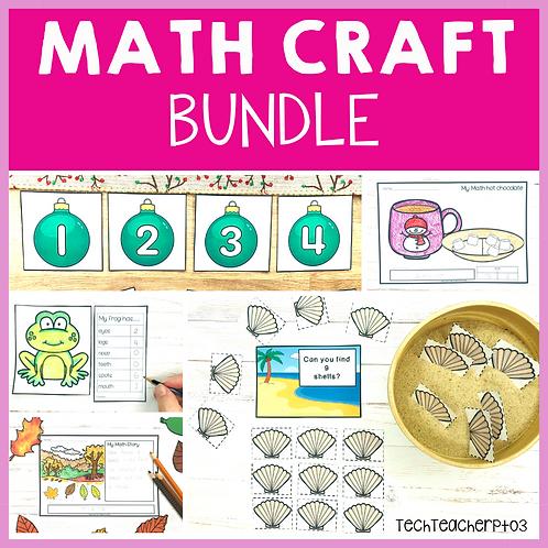 20% OFF Math Craft Activities