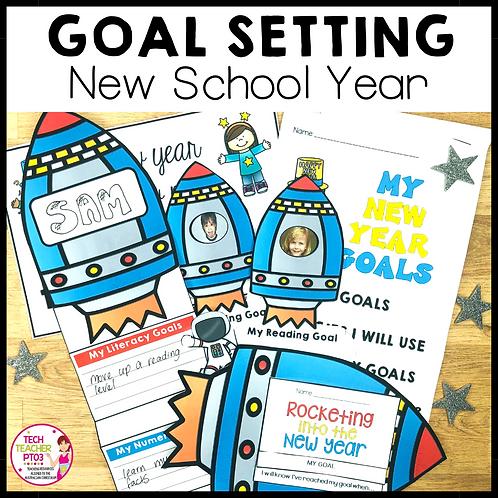 New Year Activity Goal Setting Flipbook