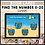 Thumbnail: Find the Number 0-20 Summer BOOM LEARNING CARDS Activity