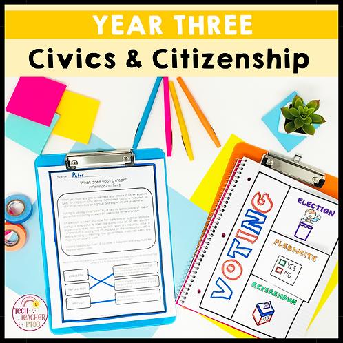 Year 3 Civics & Citizenship
