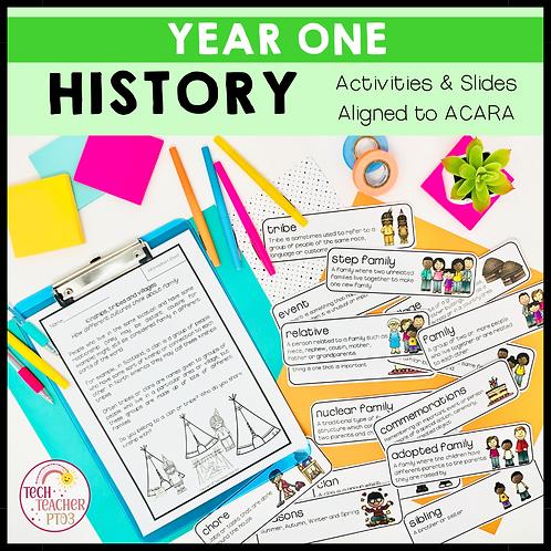 Year 1 History