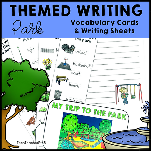 Themed Writing Activity Park