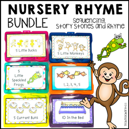 Nursery Rhyme Counting Activities Bundle