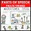Thumbnail: Parts of Speech Pirate Adjectives Grammar Activities