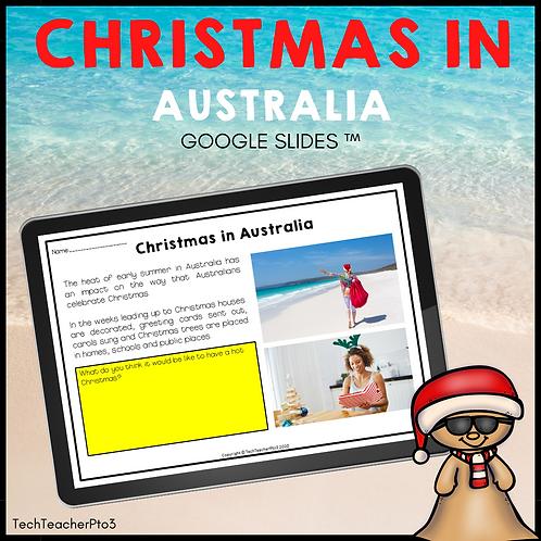 Christmas in Australia Google Slides ™ Holidays Around the World