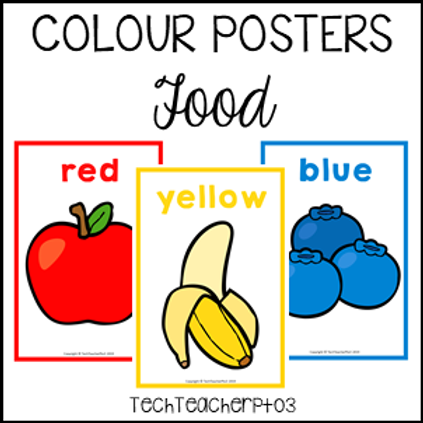 Colour Posters - Food