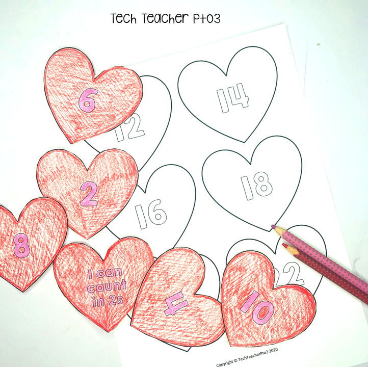 Valentine's Day craft Free download for teachers