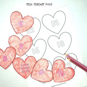 Valentine's Day craft Free download for teachers