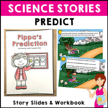 Predict Science Story Vocabulary Activities