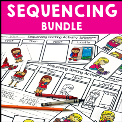 SAVE 20% Sequencing Activities Bundle