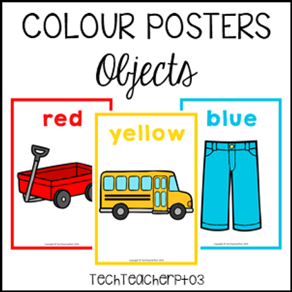 Colour Posters - Objects
