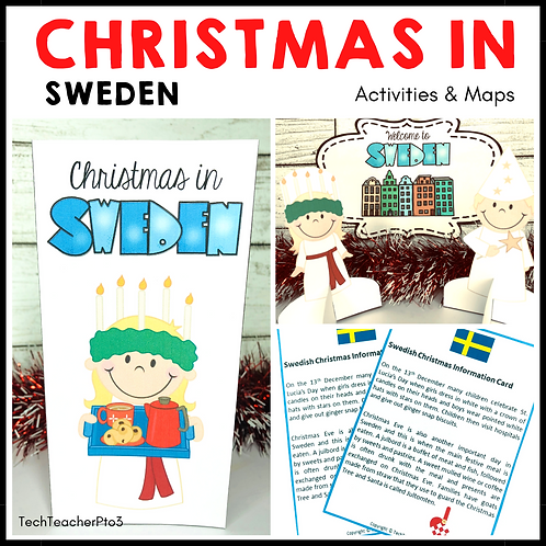 Christmas in Sweden I Christmas Around the World