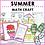 Thumbnail: Summer Math Craft Activities