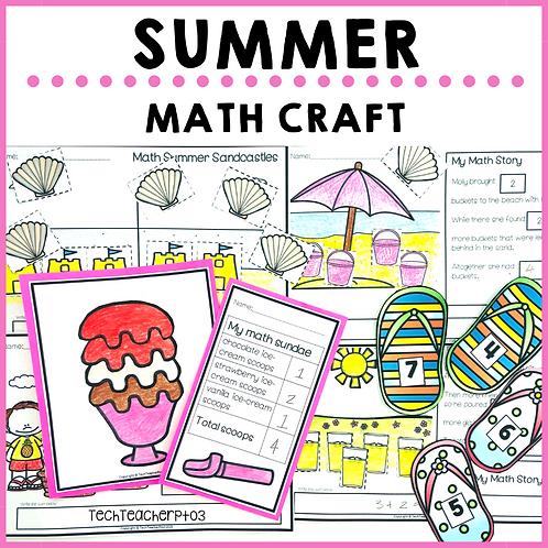 Summer Math Craft Activities