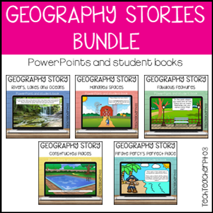 SAVE 20% Geography Stories Bundle