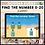 Thumbnail: Find the Number 0-20 Summer Google Slides™ Activity