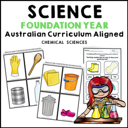 Science Foundation Year Chemical Sciences
