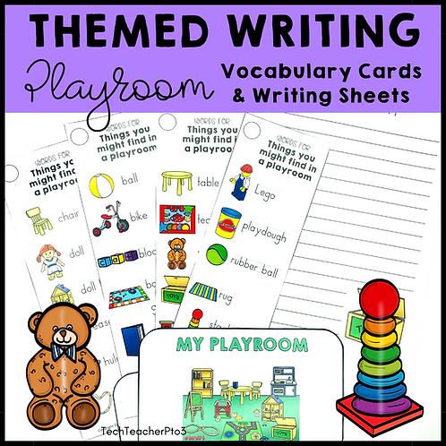 Themed Writing Activity Playroom