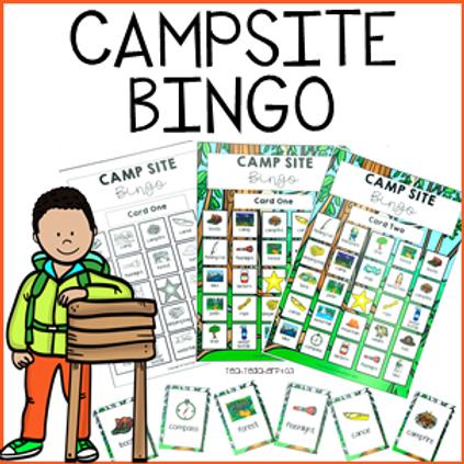 Campsite Bingo Game