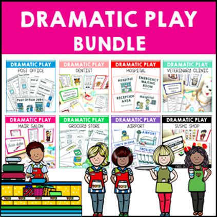 SAVE 20% Dramatic Role Play Bundle