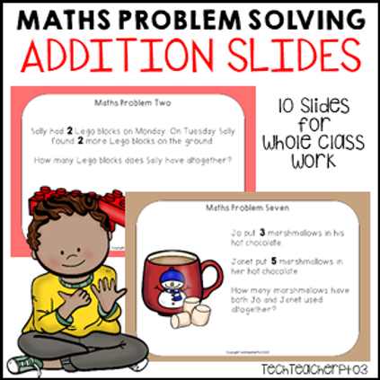Math Problem Solving Stories Addition