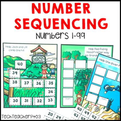 Number Sequencing Activities
