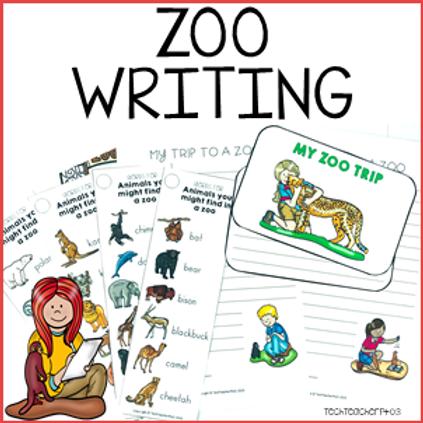 Zoo Writing Activity