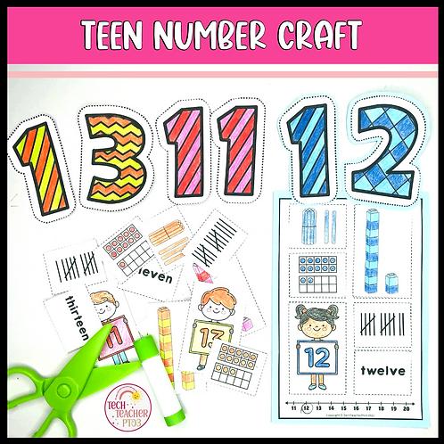 Teen Number Craft