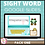 Thumbnail: Sight Word Activities for Google Slides Pack One Interactive Distance Learning