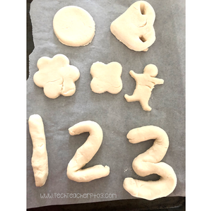 How to make salt dough models. Easy modelling activity for kids.