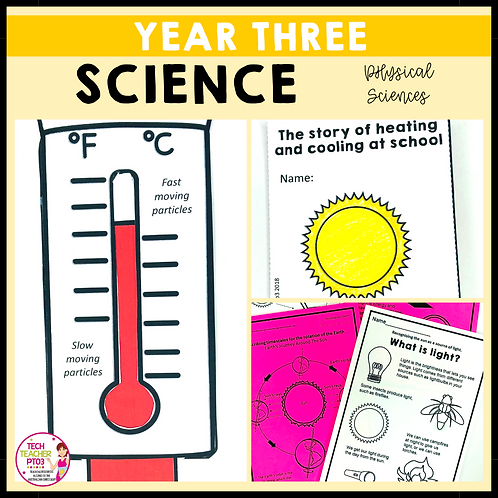 Science Year 3 Physical Sciences