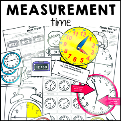Telling Time - Measurement