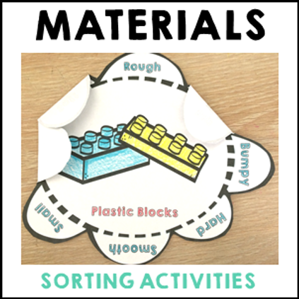 Properties of Materials Sorting Activity