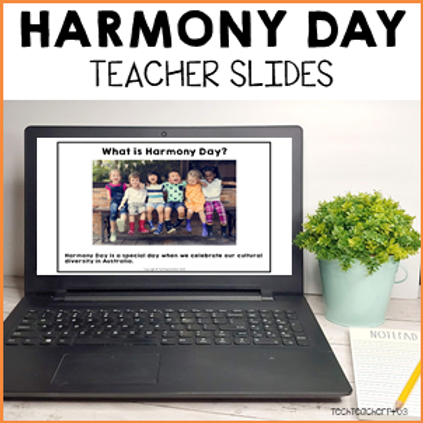 Harmony Day Teacher Slides