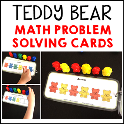 Teddy Bear Patterning Cards