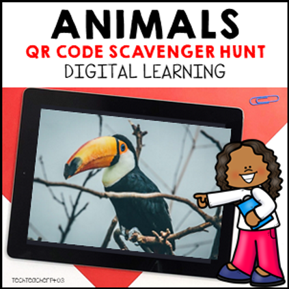 Animal Features QR Code Scavenger Hunt