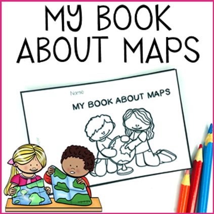 My Book About Maps - an introduction to mapping