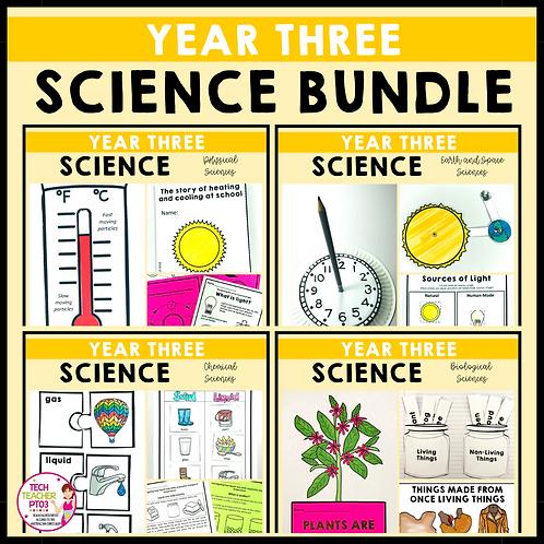 SAVE 20% Year 3 Science Bundle