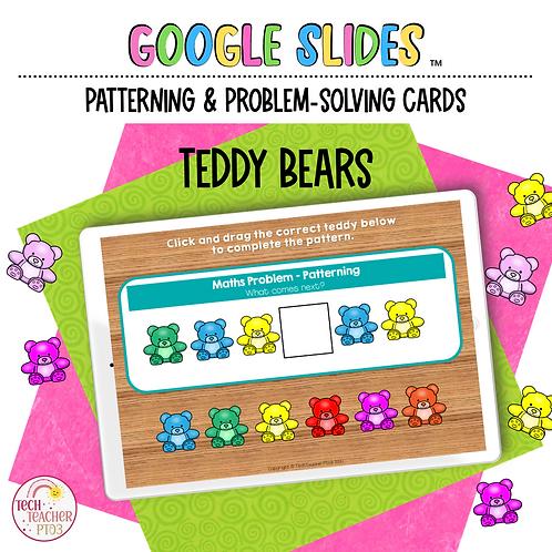Teddy Bear Patterning and Problem-Solving Google Slides™ Activity