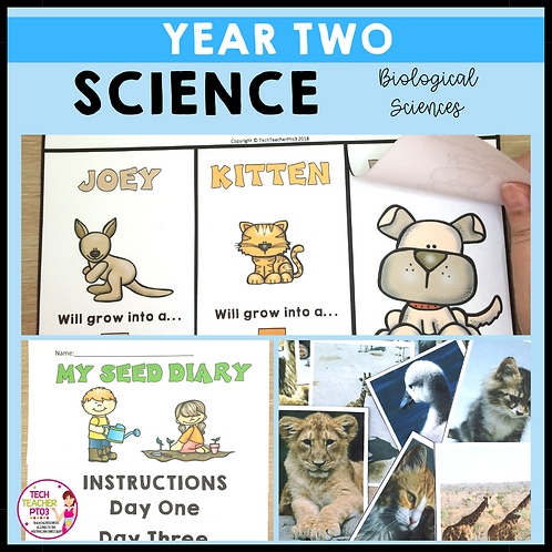 Science Year 2 Biological Sciences