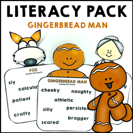 The Gingerbread Man Literacy Activities