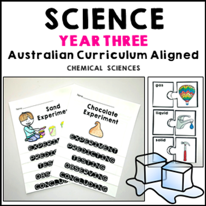Science Year 3 Chemical Sciences