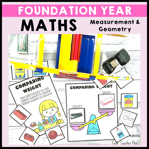 Foundation Year Maths Measurement and Geometry