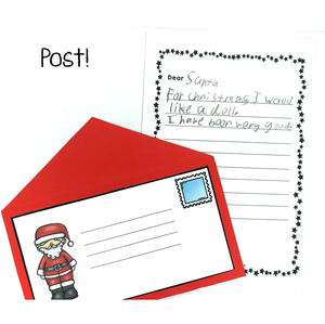 Post the letter