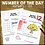 Thumbnail: Number of the Day Worksheets 1 to 120