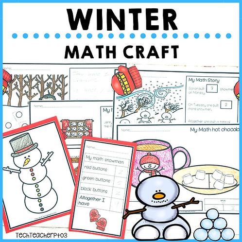 Winter Math Craft Activities