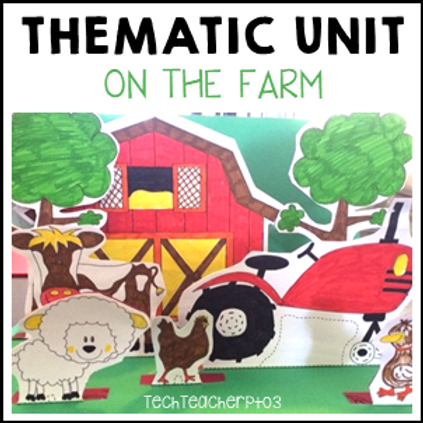 Farm Animals Thematic Unit