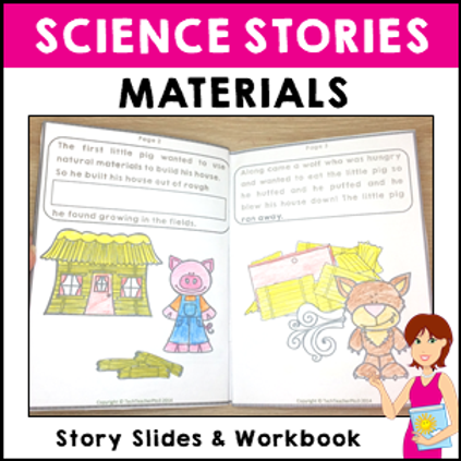 Materials Science Story Vocabulary Activities