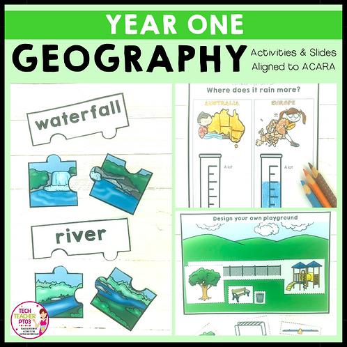 Year 1 Geography