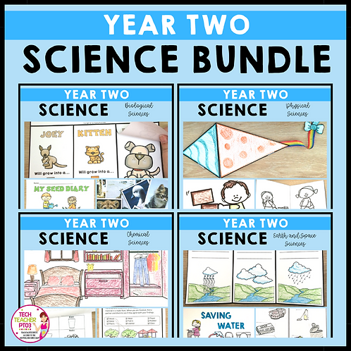 SAVE 20% Year 2 Science Bundle